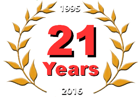 21 year of excellence